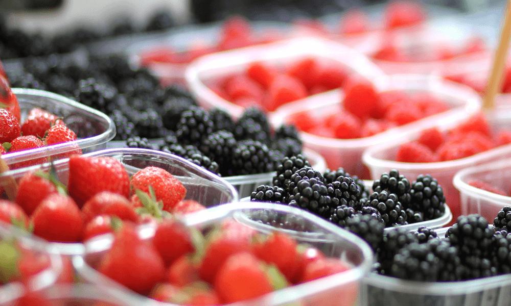 Jordbær, brombær & hindbær